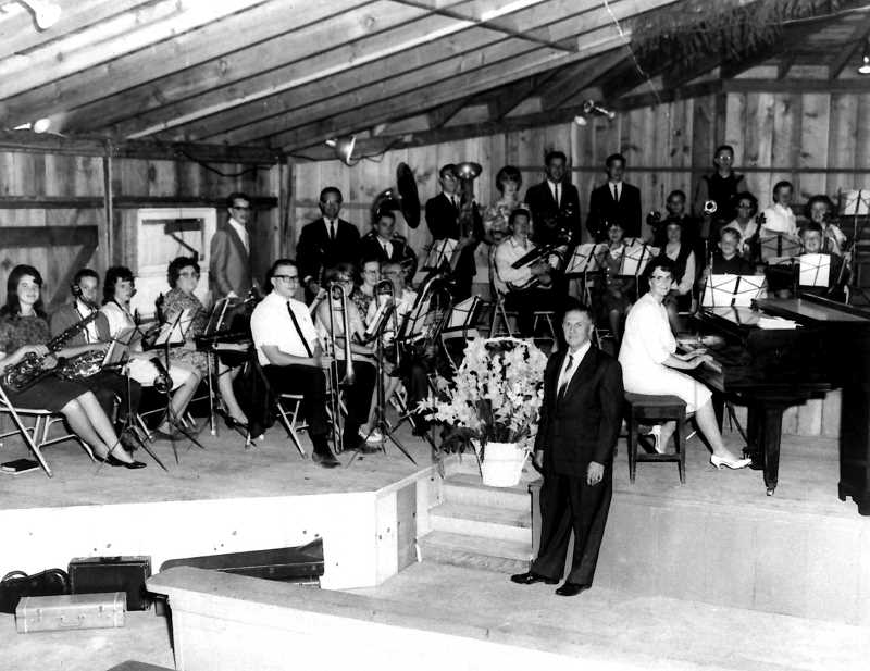 COURTESY PHOTO - From the beginning of Canby Grove and when campers gathered, a select few were prepared to be part of the orchestra for services. Their concerts were held in the tabernacle.