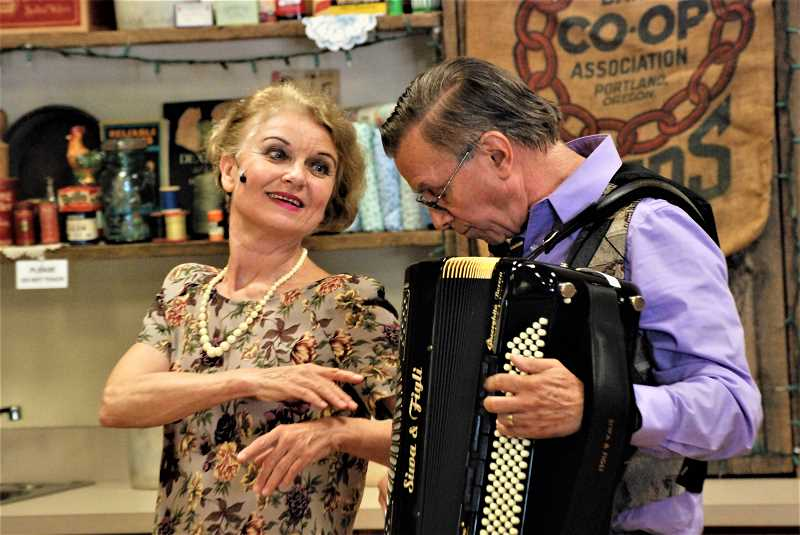 Mark and Helena Greathouse will be the December performers at the Canby Public Library's Music in the Stacks program.