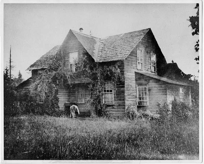 PHOTO COURTESY OF THE LAKE OSWEGO PUBLIC LIBRARY - Charles Wesley Bryant built his farmhouse in the late 1850s on land where Lakeridge Junior High and Bryant Elementary School now stand.