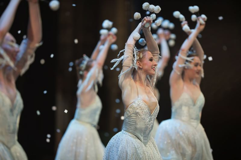 COURTESY: YI YIN/OBT - Oregon Ballet Theatre puts on 'George Balanchine's The Nutcracker.'