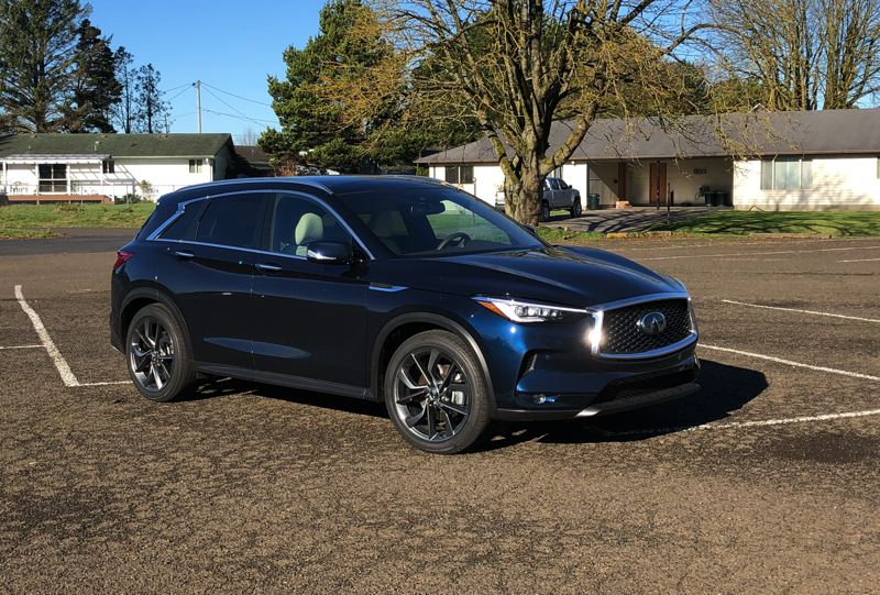 PORTLAND TRIBUNE: JEFF ZURSCHMEIDE - The all-new 2019 Infiniti QX50 is a strong contender in the hot compact crossover market. It is stylish, refined and handles very well.