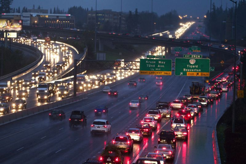 PAMPLIN MEDIA GROUP FILE PHOTO - Oregon's Transportation Commission voted Dec. 6 to seek federal permission to toll sections of Interstate 5 and Interstate 205 through the Portland area.