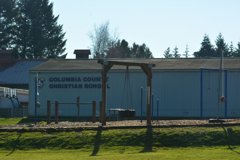 SPOTLIGHT PHOTO: COURTNEY VAUGHN - Columbia County Christian School is slated to be moved to a new nearby location on Church Road.