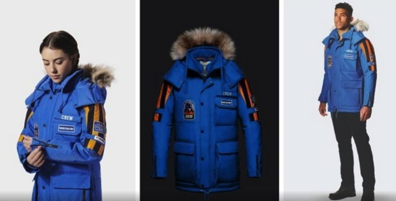 COURTESY COLUMBIA SPORTSWEAR - The 'Empire Crew' Star Wars-themed parka has already sold out online.