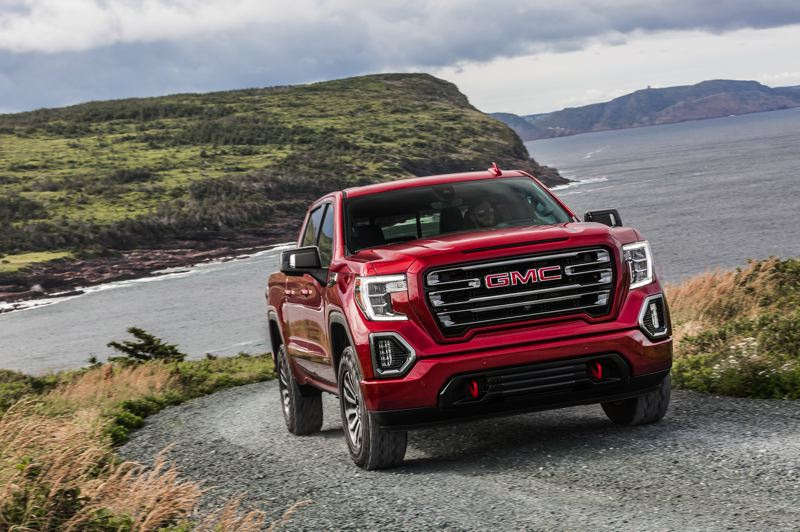 COURTESY GMC - The 2019 GMC Sierra Denali AT4 is an impressive looking truck that is surprisingly refined and easy to drive.