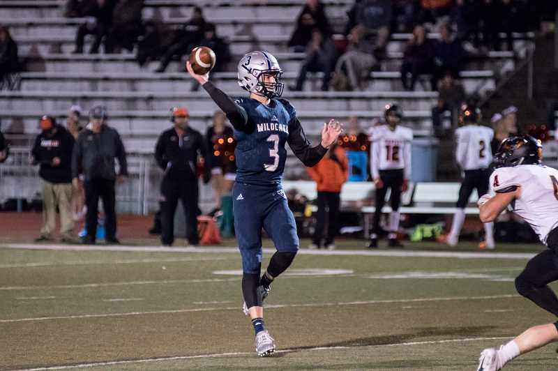 SUBMITTED PHOTO: GREG ARTMAN - Senior quarterback Nathan Overholt was named the NWOC Offensive Player of the Year.
