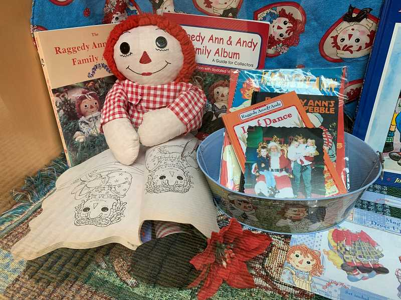 STAFF PHOTO: JANAE EASLON - Raggedy Ann dolls first became patented in 1915 in the United States and quickly became a toy classic.