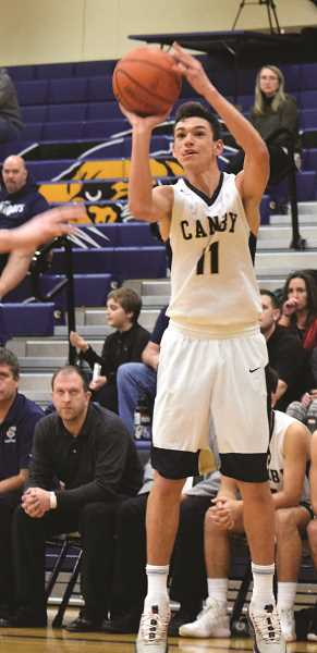 ARCHIVE PHOTO: TANNER RUSS - Canby senior Rizdin Miller