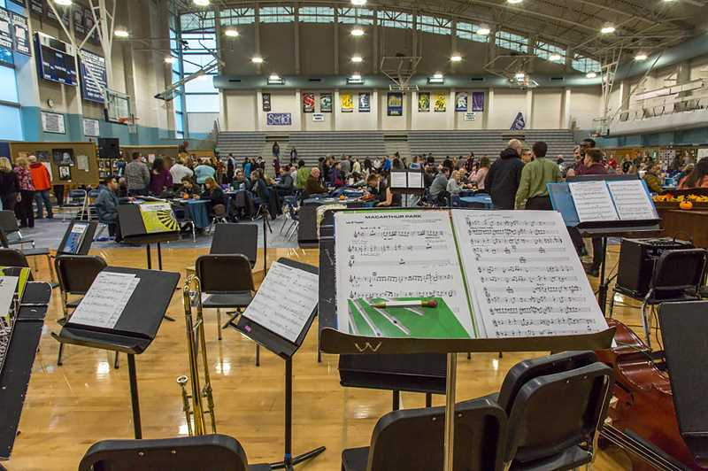 SUBMITTED PHOTO - The Wilsonville Winter Festival, hosted by MAP, supports the school district's music and arts departments.