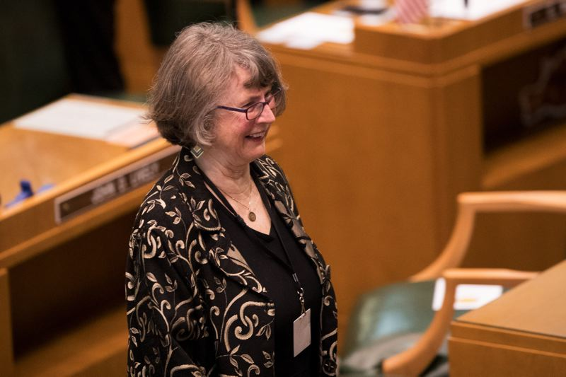 PAMPLIN MEDIA GROUP FILE PHOTO - Senate Majority Leader Ginny Burdick of Portland says Peter Courtney has left a significant imprint on the Legislature.