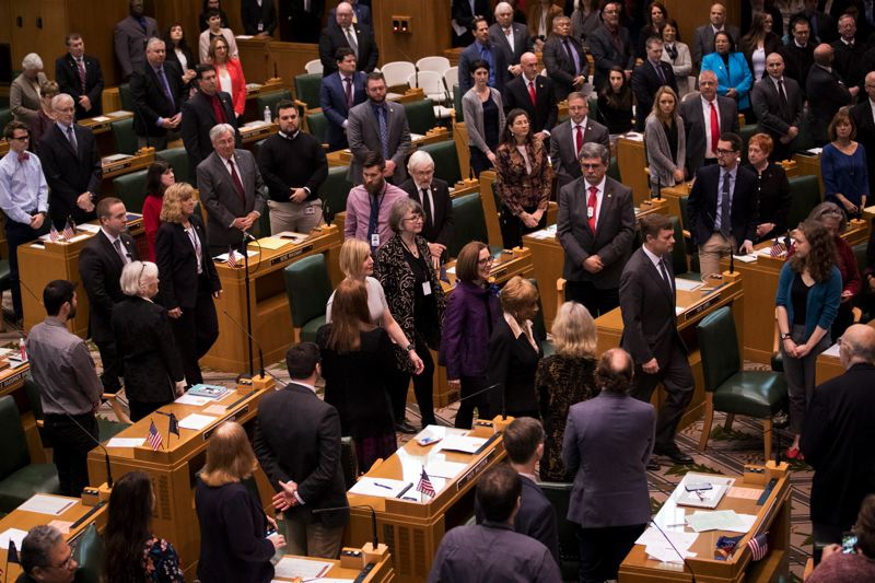 STAFF PHOTO: JAIME VALDEZ - Oregon's leaders need to get to work fixing our state's public pension system. They can start by paying down some of its debt.