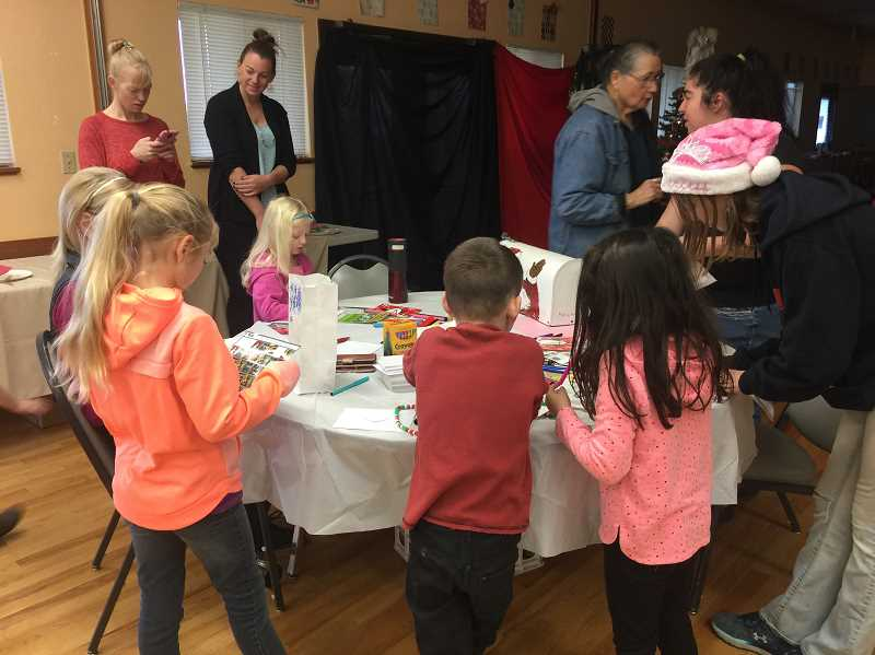 COURTESY PHOTO - Kids enjoy craft time at the event.