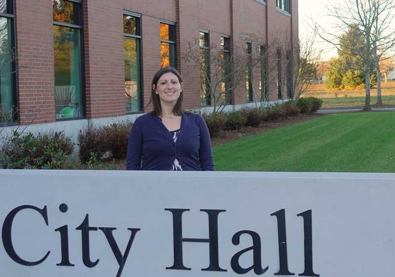 SPOKESMAN PHOTO: COREY BUCHANAN - Zoe Monahan was named the City of Wilsonvilles assistant to the city manager.