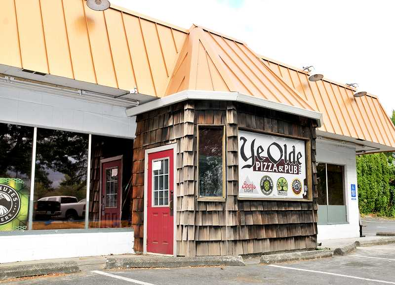 GRAPHIC FILE PHOTO - Plans for a chain of pizza shops to expand into a Newberg location have stalled as Odd Moe's Pizza hasn't made progress in reopening the former Ye Olde Pizza Shoppe building on Portland Road.
