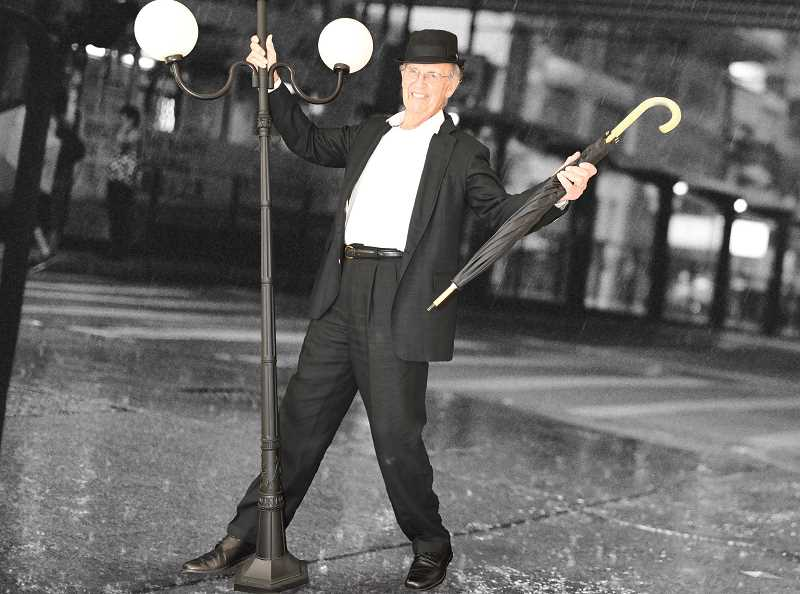 SUBMITTED PHOTO - SpringRidge resident Ron Allen played Don Lockwood from Singin In The Rain for the senior facilitys 2019 calendar.
