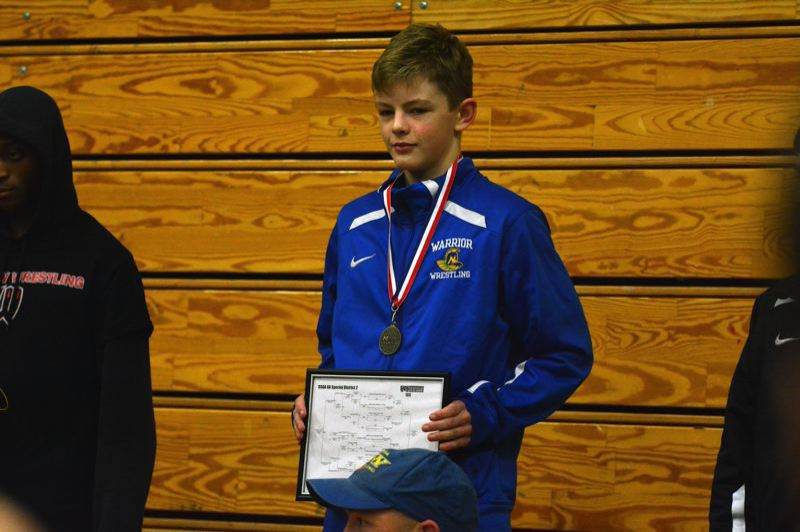 TIMES FILE PHOTO - Aloha wrestler Colton Flemming is a former district champion and state placer for the loaded Warriors.