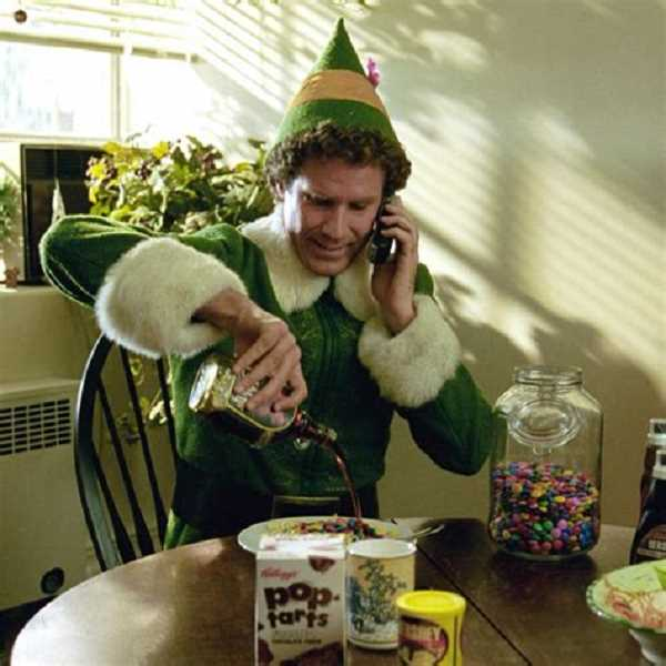 SUBMITTED PHOTOS - See Elf Dec. 14 at 6:30 p.m. at the West Linn library. Its free fun for the whole family.