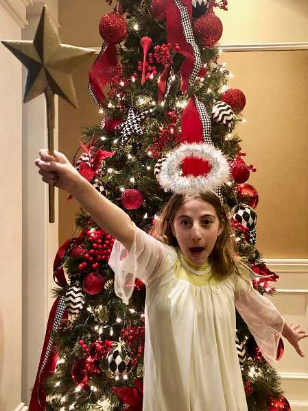 SUBMITTED PHOTO: LAKEWOOD THEATRE COMPANY - Gabriella Laird plays Gladys Herdman in The Best Christmas Pageant Ever at Lakewood Theatre Company Dec. 14 through 16 and 18 through 23.