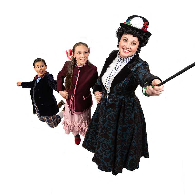 SUBMITTED PHOTOS  - Chrissy Kelly-Pettit will again play Mary Poppins in Northwest Childrens Theatre and Schools production Mary Poppins running Dec. 8 through Jan. 6.