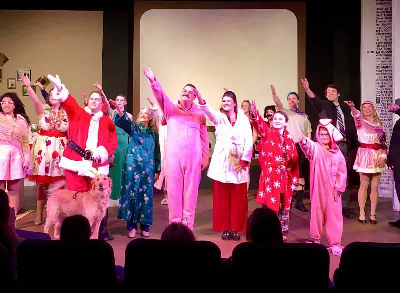 COURTESY PHOTO: TINA ARTH AND HART - HART's 'Holly Jolly Family Christmas Show' returns after two years of the original production in Hillsboro.