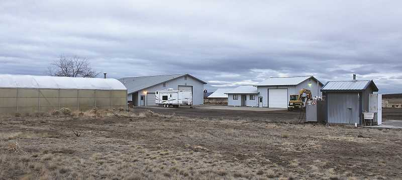 HOLLY SCHOLZ/CENTRAL OREGONIAN   - In June, the Central Oregon Agriculture Research Center Powell Butte site was sold due to budgets, and there is no longer a satellite experiment station in Crook County.