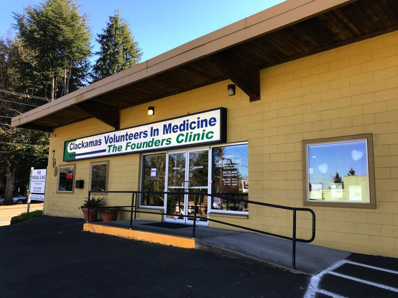 SUBMITTED PHOTO - Clackamas Volunteers in Medicine Founders Clinic is currently located at 700 Molalla Ave., Oregon City, but it will need to move to a new home soon.