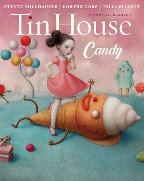 (Image is Clickable Link) COURTESY TIN HOUSE - A recent Tin House Magazine cover published in spring 2018.
