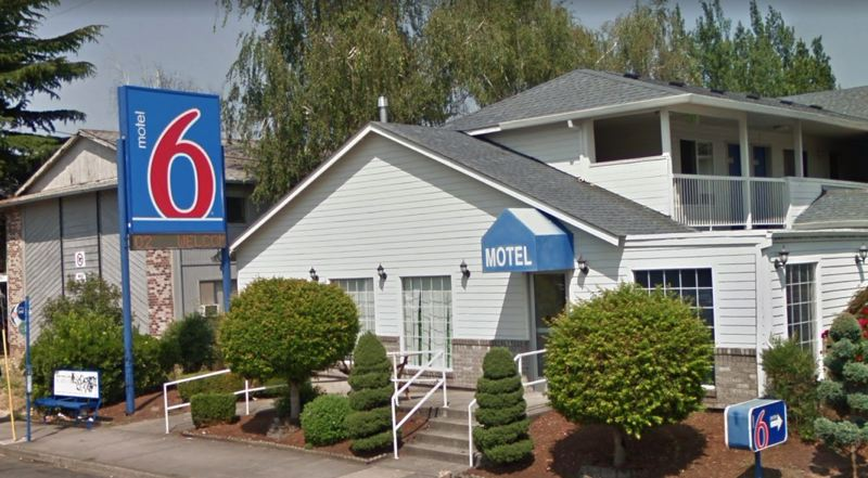 COURTESY GOOGLE MAPS - The Motel 6 at 9225 S.E. Stark Street is shown here.