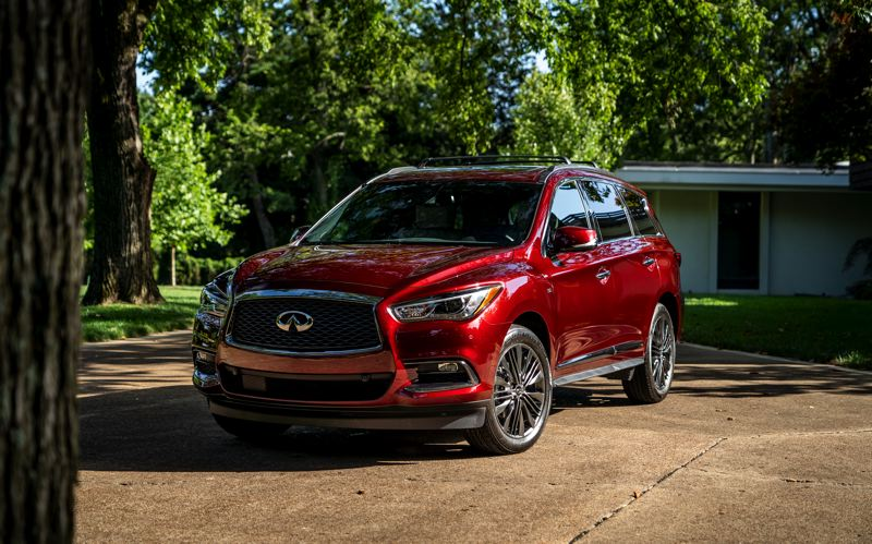 COURTESY INFINITI MOTOR CO. - The 2019 Infiniti QX60 is a tastefully styled mid-size crossover SUV with a smooth ride and plenty of power.
