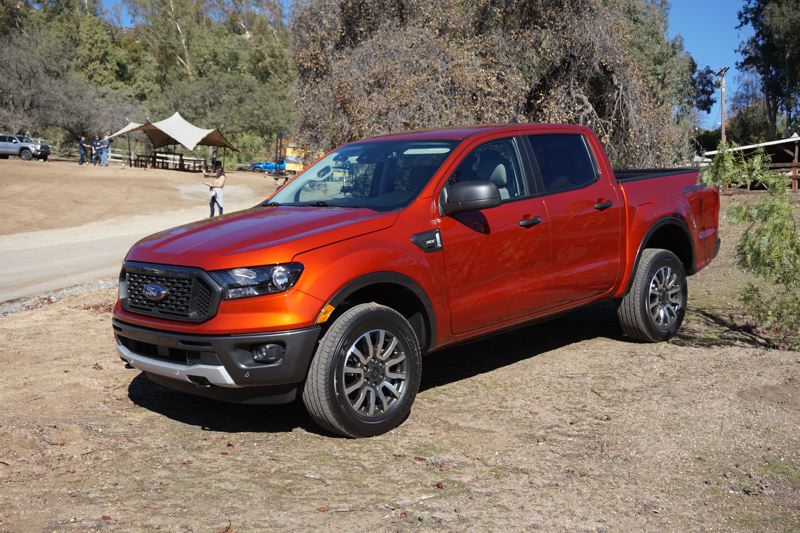 PORTLAND TRIBUNE: JEFF ZURSCHMEIDE - The 2019 Ford Ranger can be ordered in two-door SuperCab (above) or four-door SuperCrew configurations.