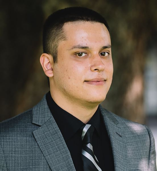 Adan Uribe, a first generation college student and scholarship recipient at Portland Community College.