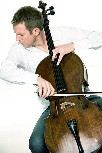 SUBMITTED PHOTO - German-Canadian cellist Johannes Moser will perform in Newberg on Jan. 8 before a three-night stint with the Oregon Symphony.