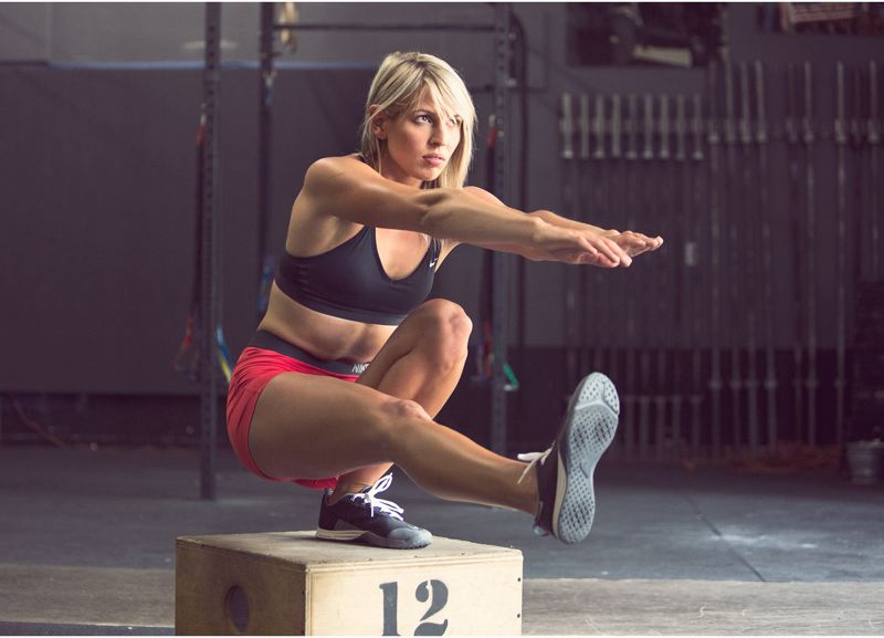 COURTESY PHOTO - Former Portland resident Krista Stryker has found some fame as a personal training and now an author, with the book being an extension of her work as 'The 12 Minute Athlete.'