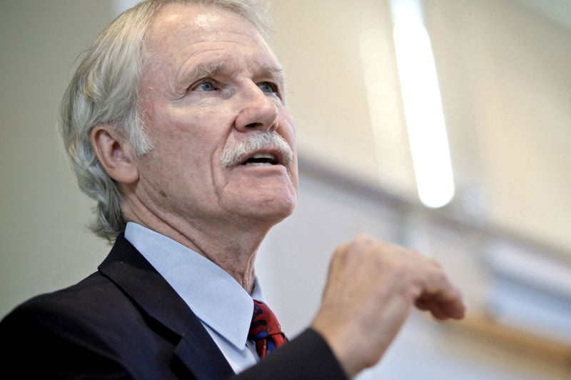 TRIBUNE FILE PHOTO - Former Gov. John Kitzhaber vowed that Oregon Health reforms would transform health care and rein in spending hikes. But while care has been improved, the amount of overall savings remains unclear and some say the reforms have lagged.