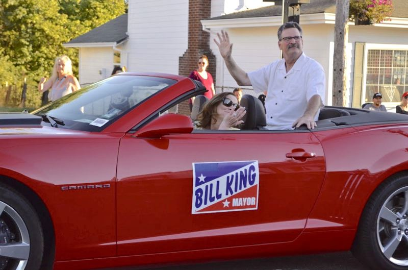 POST PHOTO: BRITTANY ALLEN - Bill King has served as Sandy's mayor for eight years or four terms.