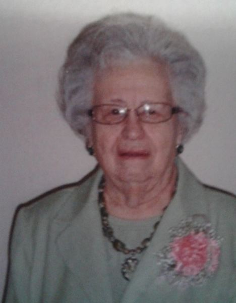CONTRIBUTED PHOTO - Grace Reich will celebrate her 100th birthday with a party on Jan. 13.