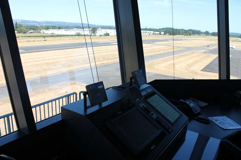 SPOKESMAN FILE PHOTO - The Oregon Department of Aviation is applying for a $37 million federal grant to fund a runway extension at the Aurora Airport.