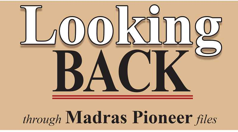 MADRAS PIONEER LOGO - The Madras Pioneer looks back through the past 100 years of newspaper archives.