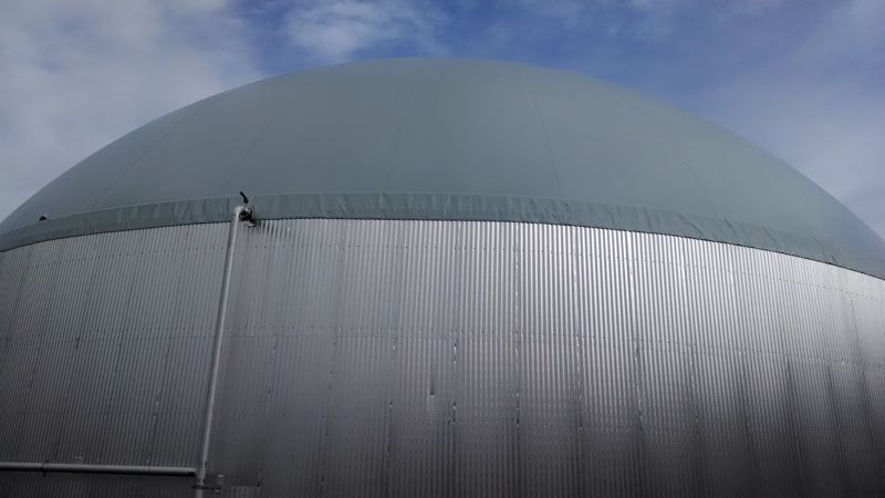 COURTESY OF METRO - An exterior view of the JC Biomethane plant in Junction City, back in 2014.