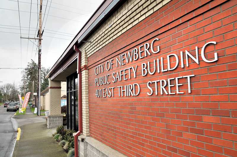 GARY ALLEN - The city of Newberg received a $815,000 grant from the state to help pay for seismic upgrades to the building.