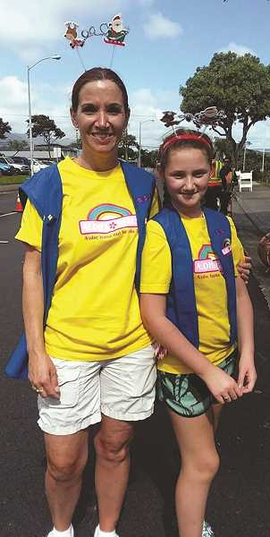 Mulino 10-year-old Kylie Boyle and her family were cast as extras in Hawaii Five-0.
