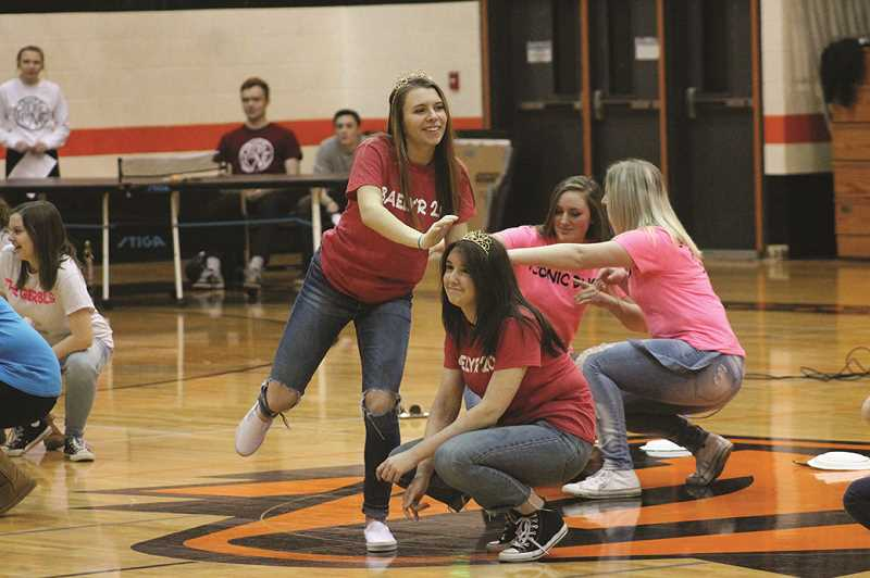 CONNER WILLIAMS - Molalla High School students again broke their fundraising record during Share the Love 2018.