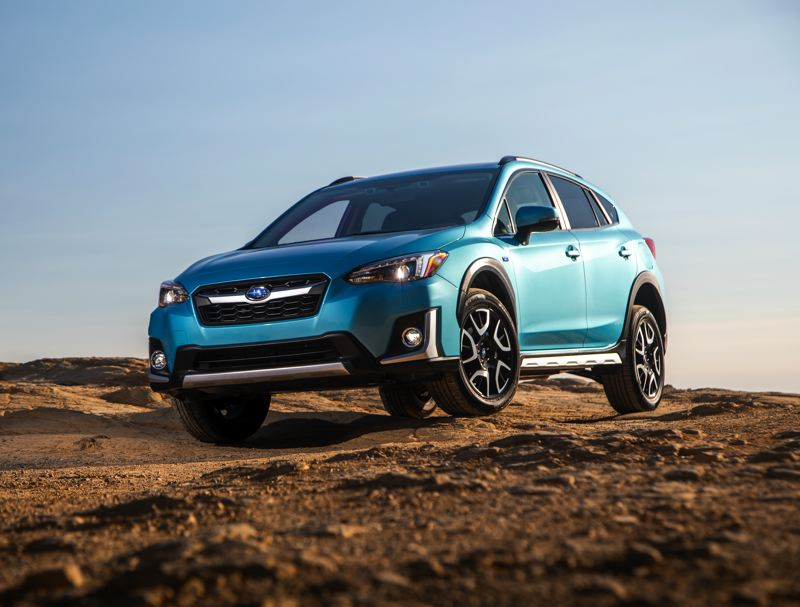 SUBARU OF AMERICA - The 2019 Subaru Crosstrek Hybrid retains all the advantages of the current version of the gas-powered Crosstrek, but can go 17 miles on electricity alone before switching over to a gas/electric hybrid mode EPA rated at 35 miles per gallon.