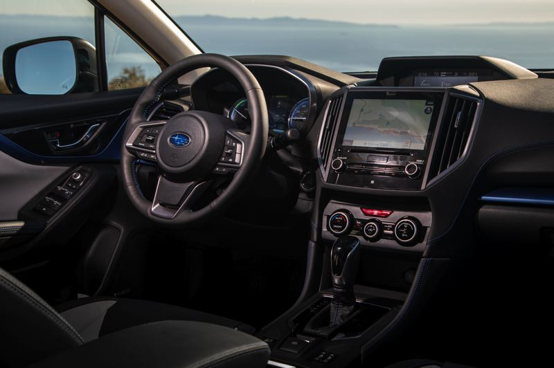 SUBARU OF AMERICA - The interiors of all Crosstrek models are the roomiest yet and have been upgraded with higher-qulaity materials and more available technologies.