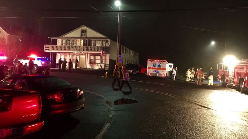 Pamplin Media Group - Man hospitalized after 'chemical smell