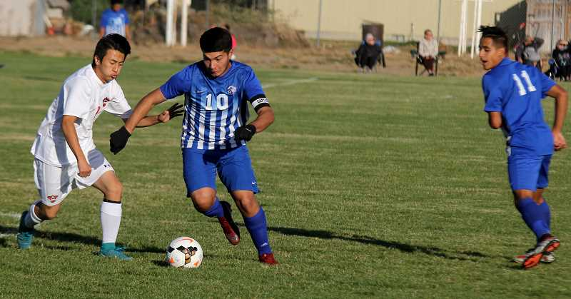 STEELE HAUGEN - Andres Acuna scored 21 goals and had three assists in the 2018 season, helping him earn first-team all state.
