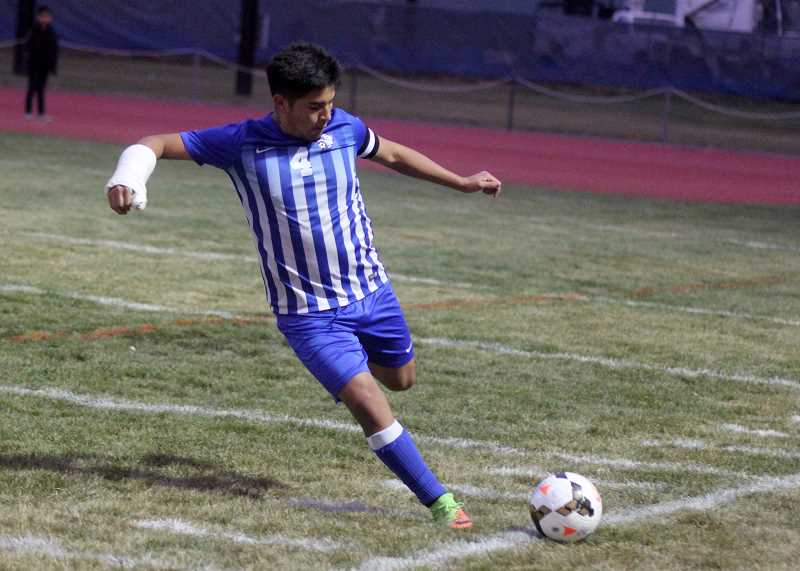 STEELE HAUGEN - Tony Giron, who played defense, assisted on two goals, helping him earn second-team