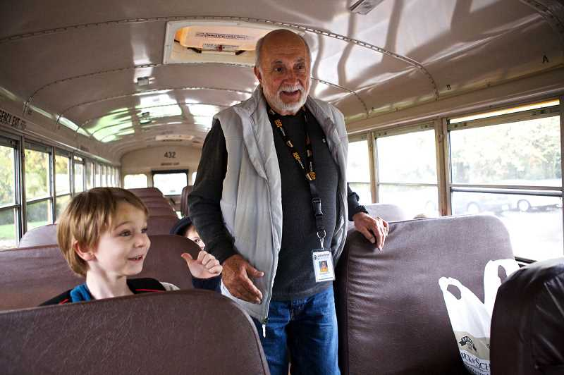 PAMPLIN MEDIA GROUP FILE PHOTO - Nationally, school bus companies are feeling the sting of a strong economy but in the WL-WV School District there is no shortage this year — but they are always looking for drivers.