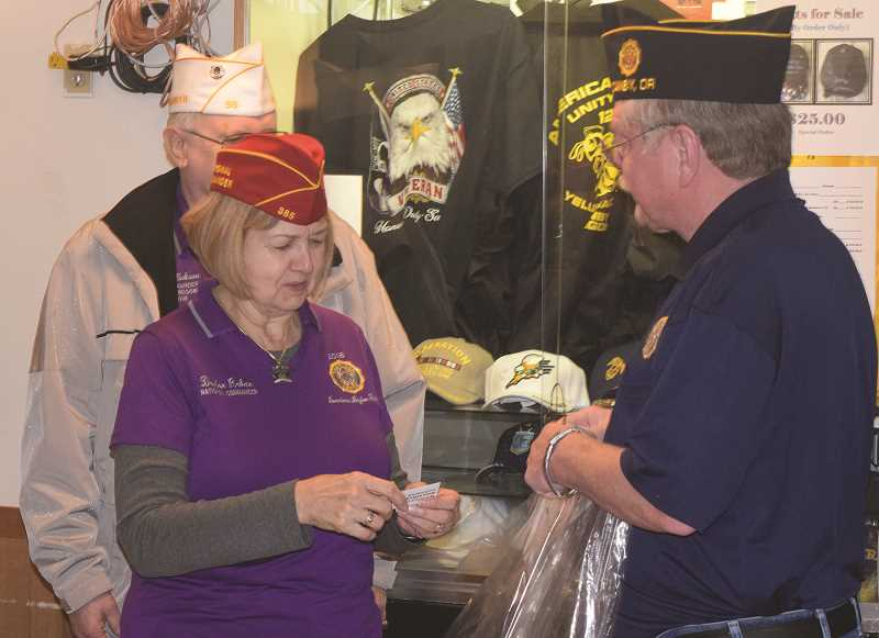 JOHN BAKER - Things got off to a good start in the area in 2018 with a visit from Denise Rodan to the area. Rodan is the American Legion national commander and stopped in Canby at the local Legion Hall to talk about the state of the American Legion.