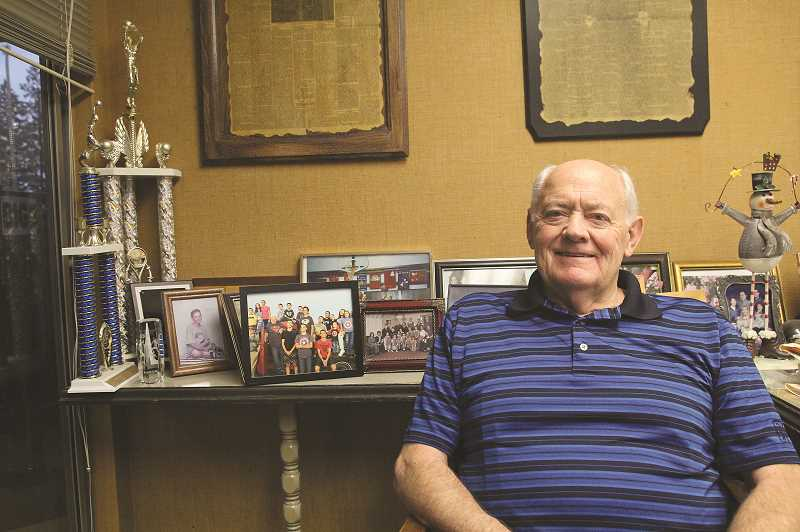 LINDSAY KEEFER - Earl Doman has run his accounting business in Woodburn for 50 years, having set up shop in 1968. He has also been a Woodburn resident for that length of time.